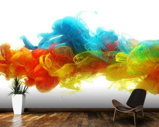 Clouds of Colour Wallpaper Wall Murals