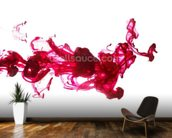 Red Dye in Water wall mural kitchen preview