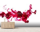Red Dye in Water wall mural living room preview