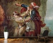 The Bride of Abydos, 1843 (oil on canvas) wall mural kitchen preview