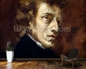 Frederic Chopin (1810-49) 1838 (oil on canvas) wall mural kitchen preview