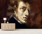 Frederic Chopin (1810-49) 1838 (oil on canvas) wall mural living room preview