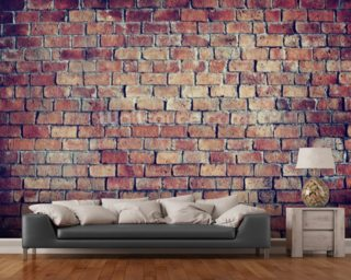 Beautiful Textured Brick Effect Wall Wallpaper Wall Murals