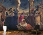 Christ on the Cross, 1835 (oil on canvas) mural wallpaper kitchen preview