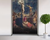 Christ on the Cross, 1835 (oil on canvas) mural wallpaper in-room view