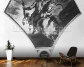 The Education of Achilles (see also 75741) mural wallpaper kitchen preview