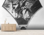 The Education of Achilles (see also 75741) mural wallpaper living room preview