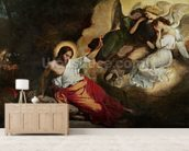 Christ in the Garden of Olives, 1827 (oil on canvas) wallpaper mural living room preview