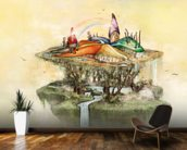 Castle in the Sky wall mural kitchen preview