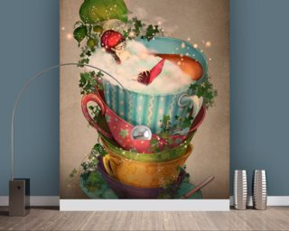 Cuppa Wallpaper Wall Murals