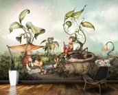 Those Good Old Summer Days wall mural kitchen preview