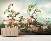 Those Good Old Summer Days wall mural living room preview