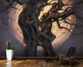 Tree Lovers mural wallpaper kitchen preview