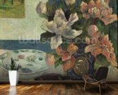 Still Life with a Mandolin, 1885 (oil on canvas) wallpaper mural kitchen preview