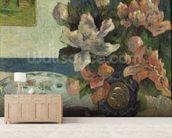 Still Life with a Mandolin, 1885 (oil on canvas) wallpaper mural living room preview