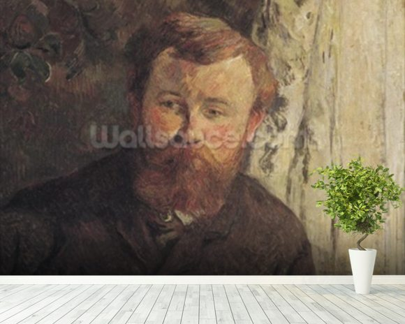 Portrait of Achille Granchi Taylor, 1885 (oil on canvas) mural wallpaper room setting