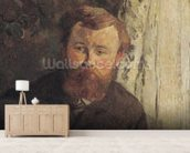 Portrait of Achille Granchi Taylor, 1885 (oil on canvas) mural wallpaper living room preview