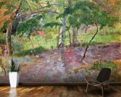 Tropical Landscape, Martinique, 1887 (oil on canvas) wall mural kitchen preview