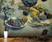 Still Life with Fruit, 1888 (oil on canvas) mural wallpaper kitchen preview