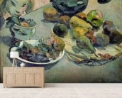 Still Life with Fruit, 1888 (oil on canvas) mural wallpaper living room preview