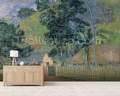 Landscape, 1899 (oil on canvas) wall mural living room preview