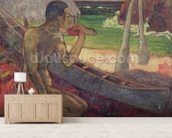 The Poor Fisherman, 1896 (oil on canvas) wall mural living room preview