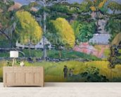 Landscape, 1901 (oil on canvas) wallpaper mural living room preview