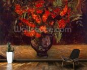 Bouquet, 1884 (oil on canvas) mural wallpaper kitchen preview