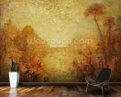 Landscape (oil on canvas) mural wallpaper kitchen preview