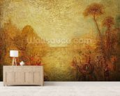 Landscape (oil on canvas) mural wallpaper living room preview