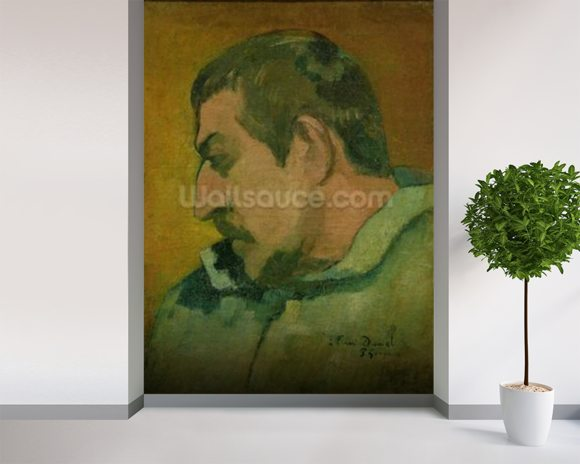 Gauguin Paul Self Portrait Wall Mural Wallsauce