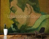Self Portrait, 1896 (oil on canvas) wall mural kitchen preview