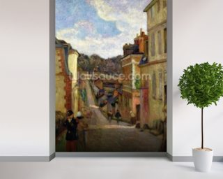 A Suburban Street Mural Wallpaper Wall Murals Wallpaper