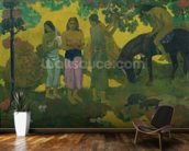Rupe Rupe (Fruit Gathering), 1899 (oil on canvas) mural wallpaper kitchen preview