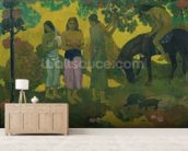Rupe Rupe (Fruit Gathering), 1899 (oil on canvas) mural wallpaper living room preview