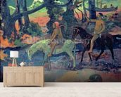 The Escape, The Ford, 1901 wall mural living room preview