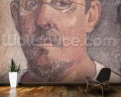 Self portrait, 1902-3 (oil on canvas) mural wallpaper kitchen preview