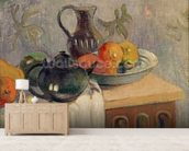 Teiera, Brocca e Frutta, 1899 wallpaper mural living room preview