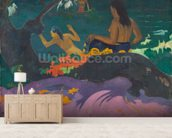 Fatata te Miti (By the Sea) 1892 (oil on canvas) wall mural living room preview