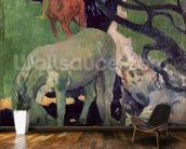 The White Horse, 1898 (oil on canvas) mural wallpaper kitchen preview