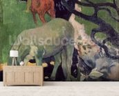 The White Horse, 1898 (oil on canvas) mural wallpaper living room preview