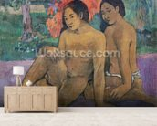 And the Gold of their Bodies, 1901 (oil on canvas) wall mural living room preview