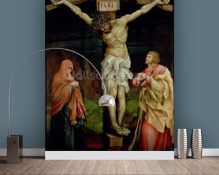 The Crucifixion, c.1525 (oil on panel) wallpaper mural