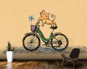 Cat Cycle wall mural kitchen preview