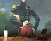 Ferdinand-Philippe (1810-42) Duke of Orleans in the Park at Saint-Cloud, 1843 (oil on canvas) wallpaper mural kitchen preview