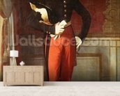 Ferdinand-Philippe (1810-42) Duke of Orleans at the Palais des Tuileries, 1844 (oil on canvas) wall mural living room preview