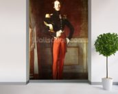 Ferdinand-Philippe (1810-42) Duke of Orleans at the Palais des Tuileries, 1844 (oil on canvas) wall mural in-room view