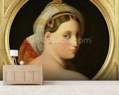 Study for an Odalisque (oil on canvas) mural wallpaper living room preview