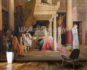Antiochus and Stratonice, 1840 (oil on canvas) wallpaper mural kitchen preview