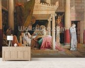 Antiochus and Stratonice, 1840 (oil on canvas) wallpaper mural living room preview